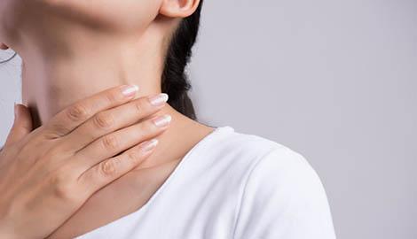 Причины боли в горле